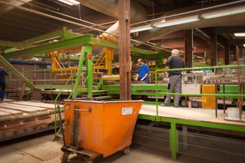 Klinkerziegelei Grabstede Produktion 2012 (9)